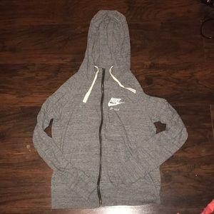 Nike zip up thin jacket
